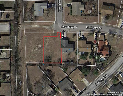 San Antonio Residential Lots & Land New: 10630 Louisburg Dr Lot 27