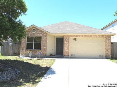Converse Single Family Home New: 8606 Sierra Springs