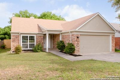 San Antonio Single Family Home New: 8639 Silent Oaks
