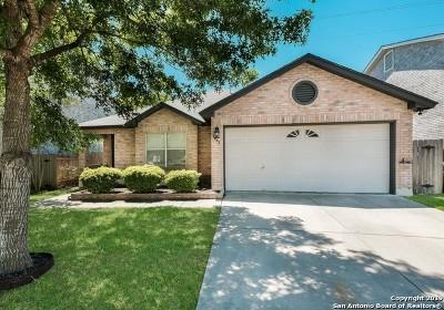 San Antonio Single Family Home New: 9643 Garden Path