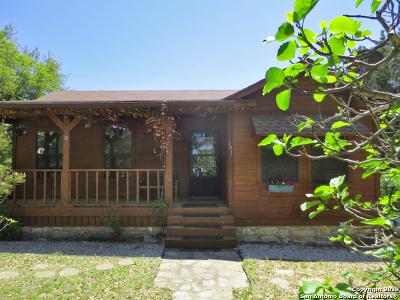Bandera Single Family Home Active Option: 191 White Buffalo Trail