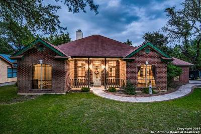 Boerne Single Family Home New: 109 Woodland Blvd