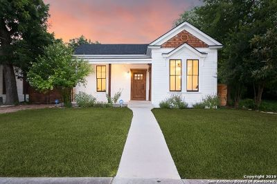 San Antonio Single Family Home New: 1110 Nolan Street
