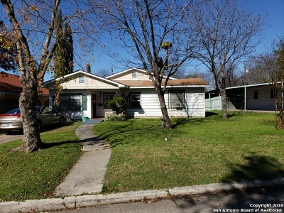 San Antonio Single Family Home New: 755 Linda Lou Dr