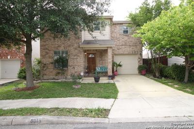 San Antonio Single Family Home New: 8019 Sandbar Pt