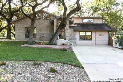 San Antonio Single Family Home New: 16803 Lilly Crest Dr