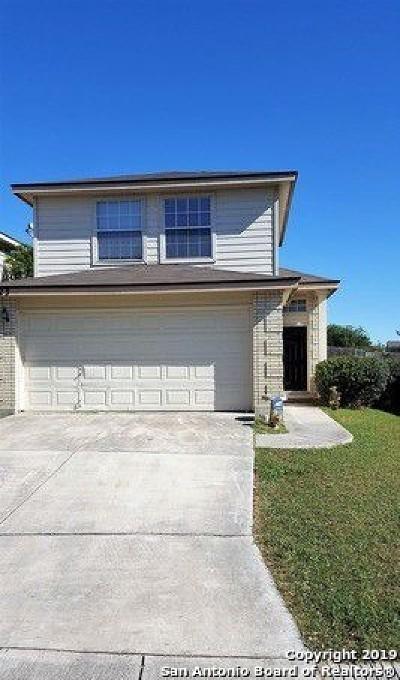 San Antonio Single Family Home New: 6723 Sandy Point Dr