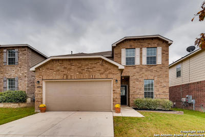Alamo Ranch Single Family Home Active Option: 12914 Limestone Way