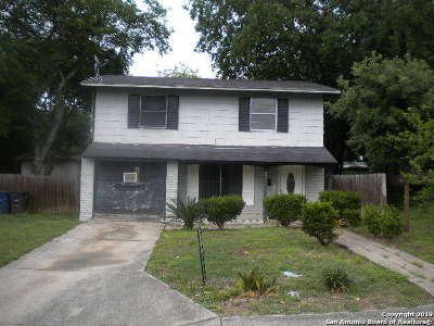 San Antonio Single Family Home New: 3314 Bob Billa St