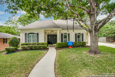 San Antonio Single Family Home New: 1203 Wood Fern St
