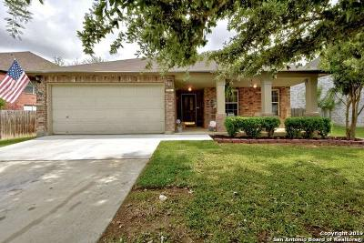 New Braunfels Single Family Home Active Option: 854 Spyglass Dr