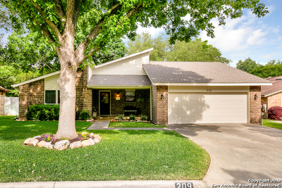 Single Family Home New: 209 Preston Hollow