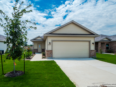 Seguin Single Family Home New: 2420 Ranger Pass