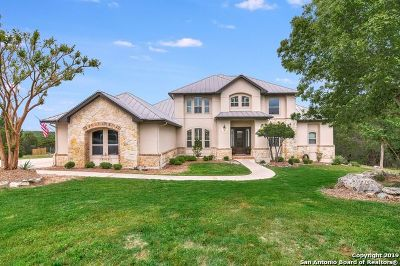 Boerne Single Family Home New: 102 Spring Ridge