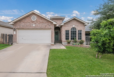 Helotes Single Family Home Active Option: 10210 Homburg Ranch