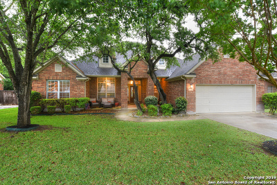 San Antonio Single Family Home New: 24110 Middle Fork