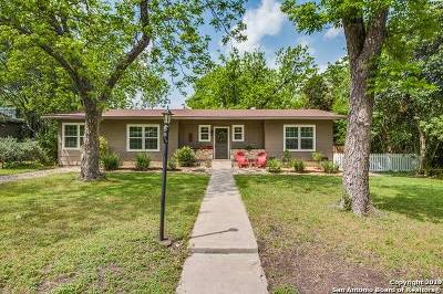 San Antonio Single Family Home New: 307 Devonshire Dr