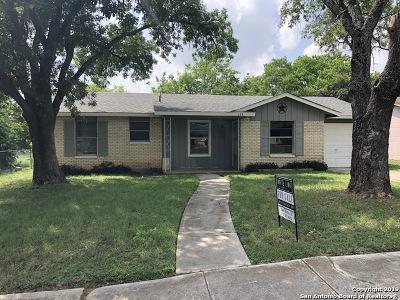 San Antonio Single Family Home New: 134 Stapleton St
