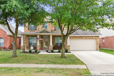Cibolo Single Family Home New: 120 Bison Ln