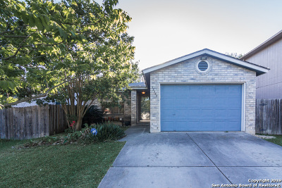 San Antonio Single Family Home New: 13347 Pecan Glade