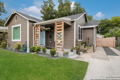 San Antonio Single Family Home Active Option: 221 E French Pl