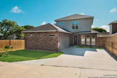 San Antonio Single Family Home New: 8807 Heath Circle Dr