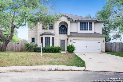 Bexar County Single Family Home Active Option: 11503 Windwalk
