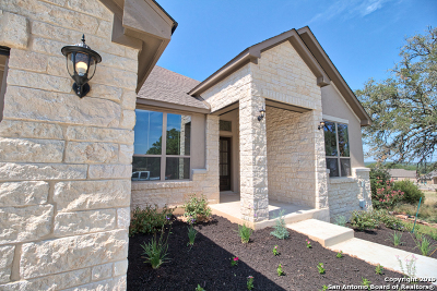 New Braunfels Single Family Home Back on Market: 587 Cloister Rd