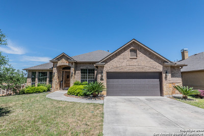 San Antonio Single Family Home New: 25814 Trickling Rock