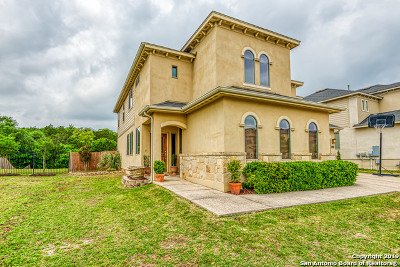 San Antonio Single Family Home New: 23503 Woodlawn Ridge