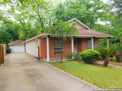 San Antonio Single Family Home New: 606 E Hart Ave