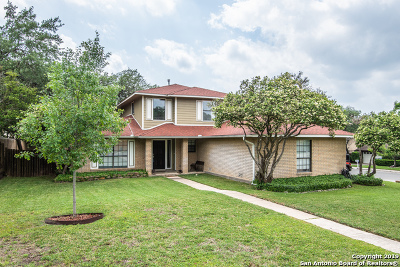 San Antonio Single Family Home New: 8015 Flamewood