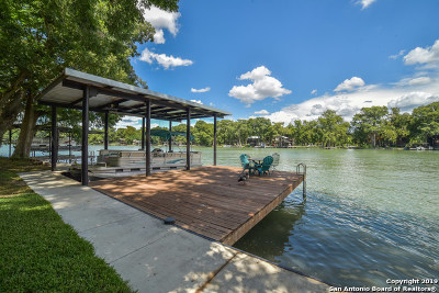 Seguin Single Family Home Price Change: 405 Lake Placid Dr