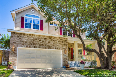 San Antonio Single Family Home New: 118 Red Hawk Ridge