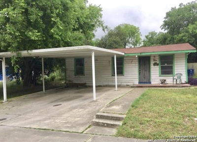San Antonio TX Single Family Home Back on Market: $65,900