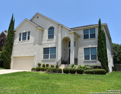 San Antonio Single Family Home New: 19510 Clay Oak