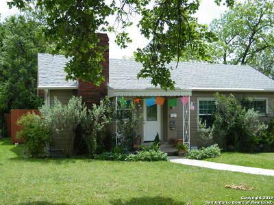 San Antonio Single Family Home New: 416 Funston Place