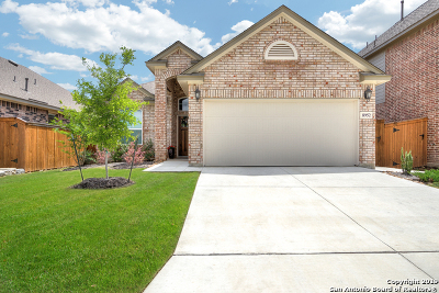 San Antonio Single Family Home New: 8952 Study Butte