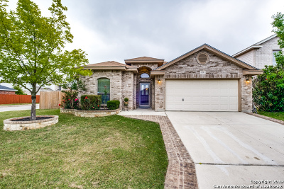 Helotes Single Family Home Active Option: 10338 Alsfeld Ranch