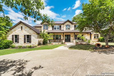 Boerne Single Family Home New: 205 Rio Cordillera