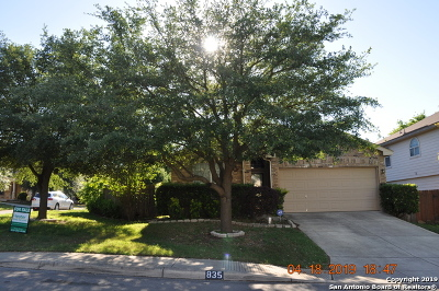 San Antonio Single Family Home New: 835 Chamomile