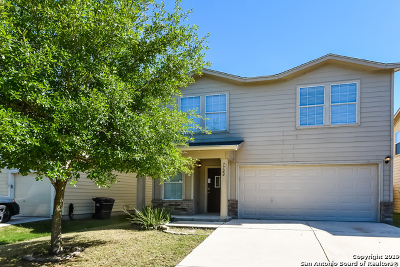 San Antonio Single Family Home New: 7722 Burro Bend