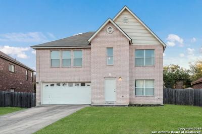 San Antonio Single Family Home New: 9523 Bare Back Trail