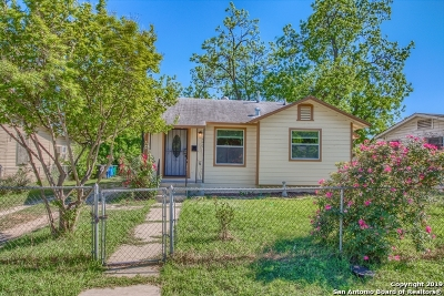 San Antonio Single Family Home New: 490 Canavan Ave