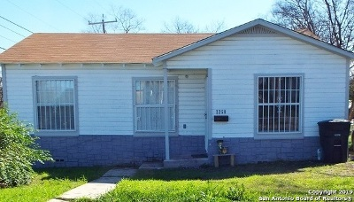 San Antonio Single Family Home New: 2258 Burnet St