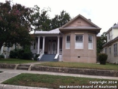 San Antonio Single Family Home New: 805 Pine St