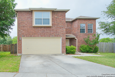 Cibolo Single Family Home New: 112 Woodstone Pt