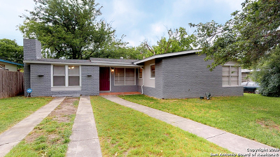 San Antonio Single Family Home New: 171 Shady Rill