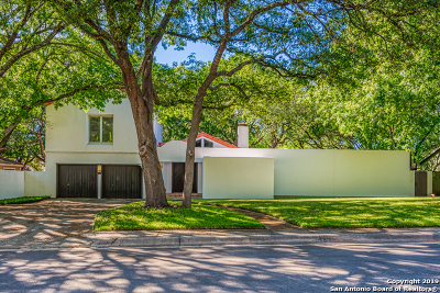 San Antonio Single Family Home New: 15423 Triple Creek