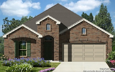 Schertz Single Family Home New: 4510 Pecos Point